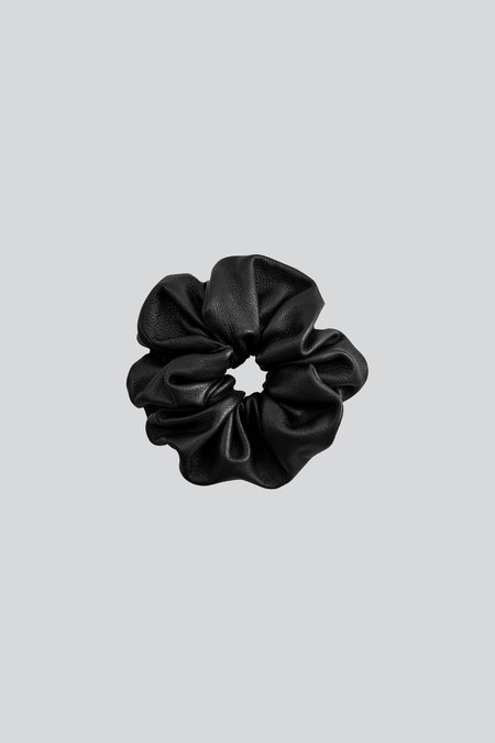 LEBRAND Leather Hair Tie - Black