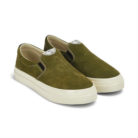 Stepney Workers Club Lister Suede - Military