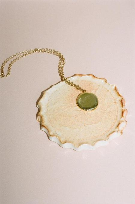 Eleventh House Edith Necklace - Solid Brass