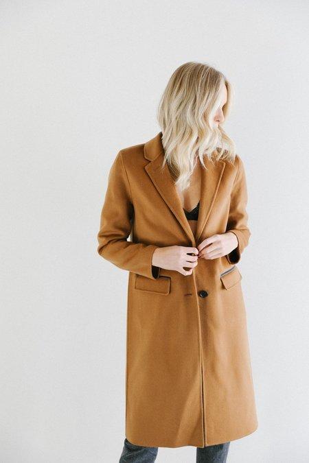 Mackage Hens Wool Coat - Camel