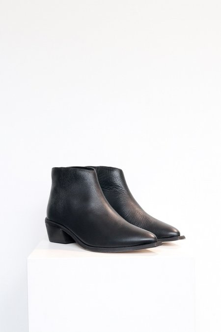 Wal & Pai West Leather Boot - Black
