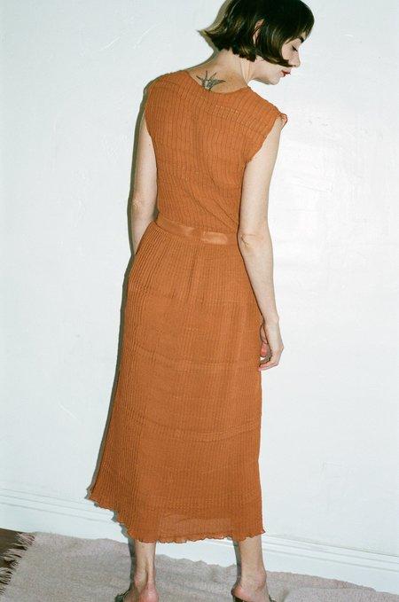 Renaissance Subvert Skirt - Burnt Orange
