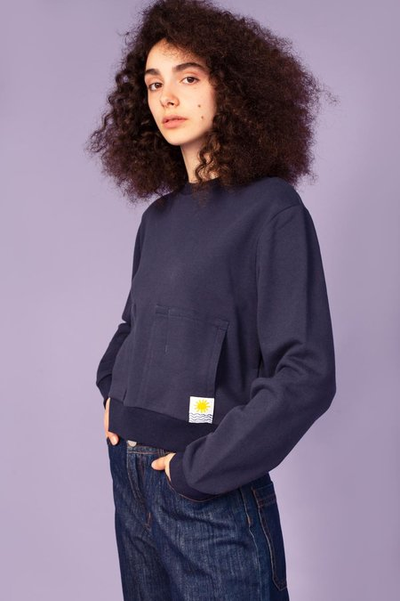 L.F.Markey Karsen Sweatshirt - Navy