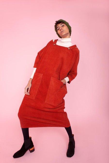 L.F.Markey Pat Dress - Terracotta