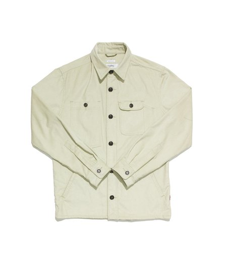 Freemans Sporting Club Camp Shirt - Natural Corduroy