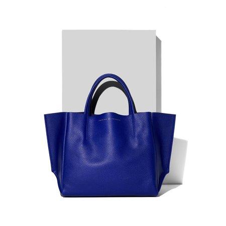 Ampersand as Apostrophe Half Tote Bag - Deep Blue
