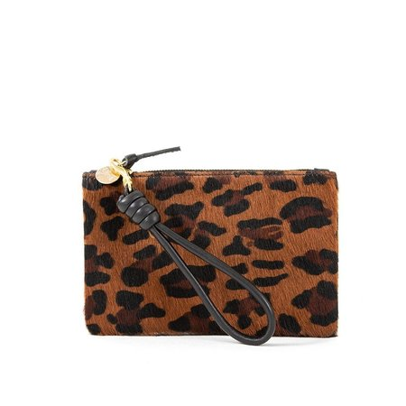 Clare V. Pablo Cat Hair Wallet Clutch