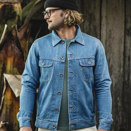 Taylor Stitch The Long Haul Jacket - Organic '68 24 Month Wash