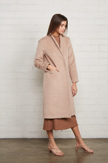 Rachel Pally Brushed Felt Sonja Coat - Fawn