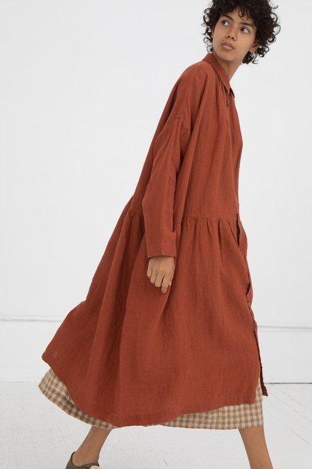 ICHI ANTIQUITES Linen Dress - Renga