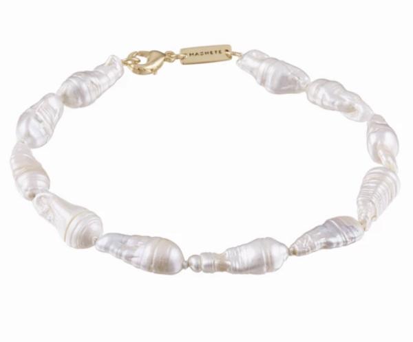 Prism Biwa Pearl Bracelet