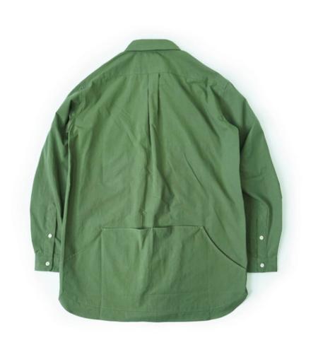 Workware Heritage Clothing ENGINEER SHIRT - GREEN