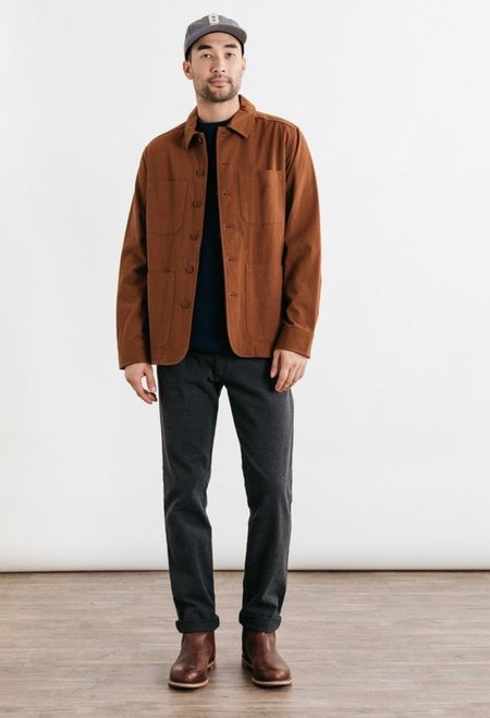 Bridge & Burn Amos Jacket - Hickory Brown
