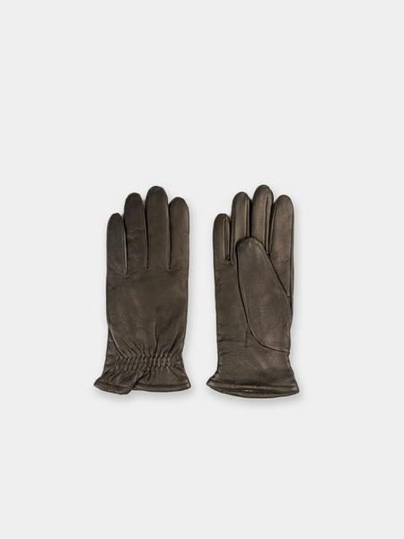 Norse Projects Asa Leather Gloves - Black