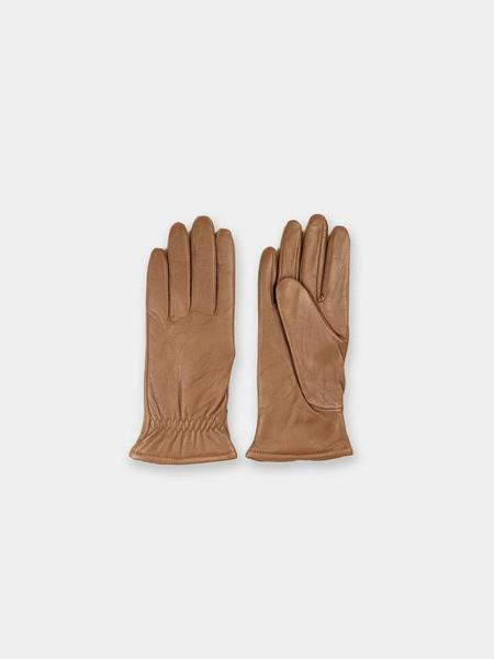 Norse Projects Asa Leather Gloves - Duck Brown