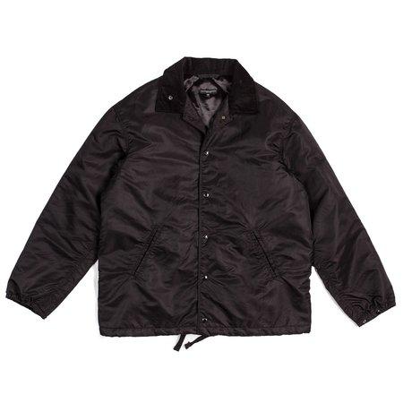 Engineered Garments Ground Jacket - Black Flight Satin Nylon