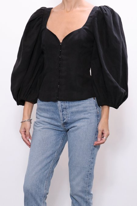 Mara Hoffman Eliana Top - Black