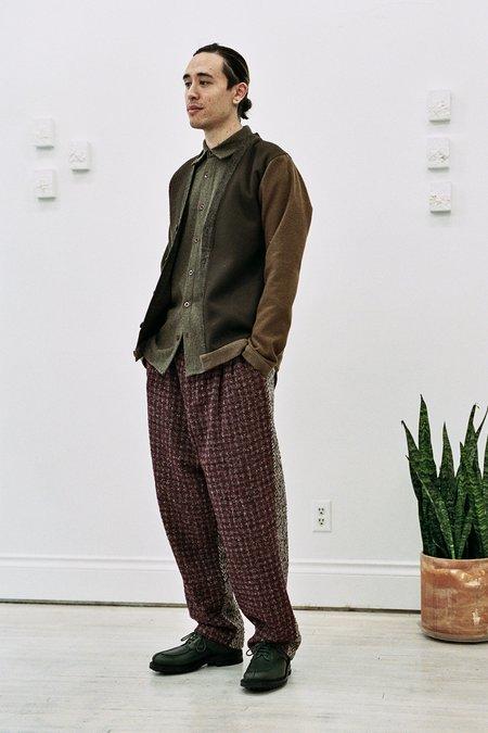 Frank Leder Vintage Fabric Cardigan