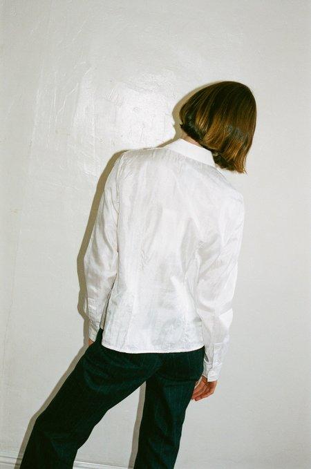 Our Legacy Silk Semi Shirt - Double White