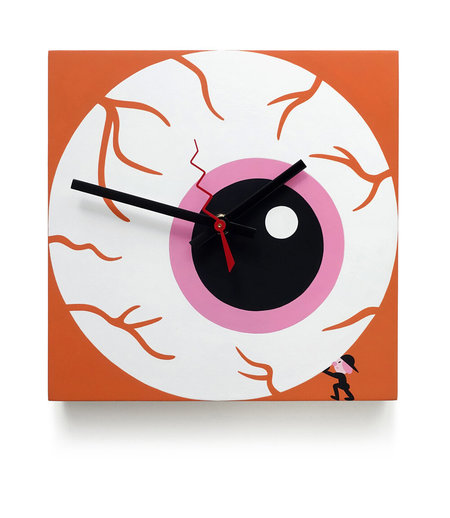 Evah Fan Operation Eye Jack Clock