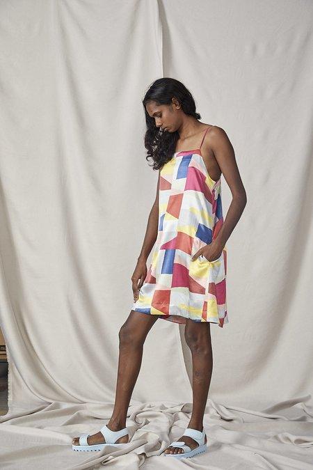 Lois Hazel Smooth Slip - Colourblock