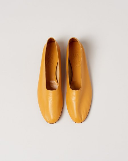 Martiniano Glove flat - Corn