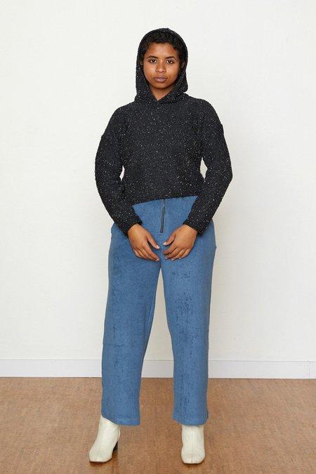 North Of West Pebble Knit Janet Hoodie - Black