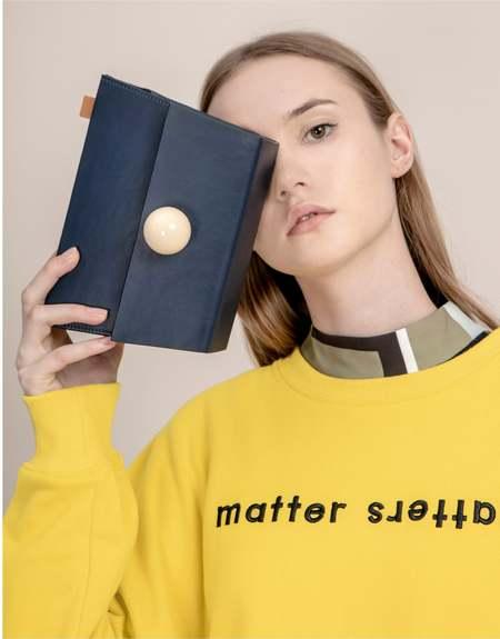 MATTER MATTERS The Objects Sweatshirt - Yellow