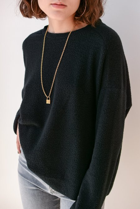 Beautiful People Sherpa Sweatshirt - Black