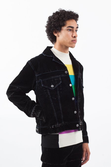 Christian Dada Flock Denim Jacket