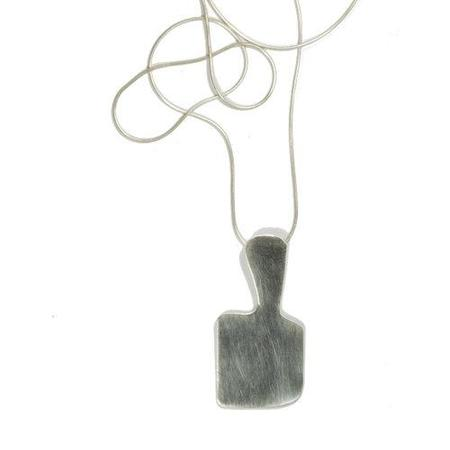 Rachel Gunnard modern form necklace - Sterling Silver