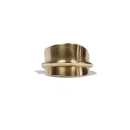 Rachel Gunnard ovum ring - Brass