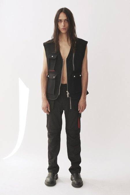 Adyar Virgin Wool Trady Shell Vest