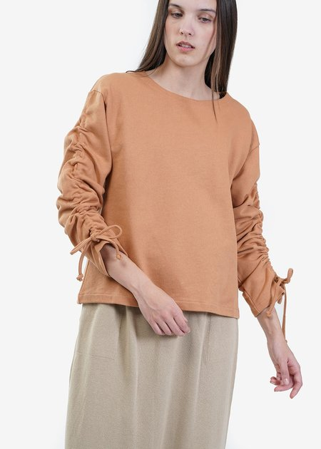 Baserange Furano Alsa Sweat Shirt - brown