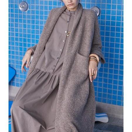 Atelier Delphine extra long haori coat
