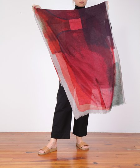 Hartford Lucy Scarf - Red