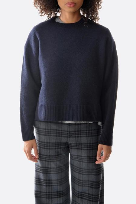 Hope Dover Sweater - Navy Blue