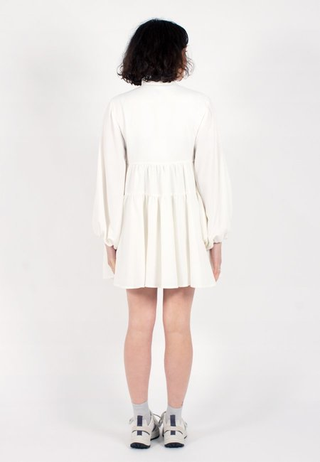 C/MEO Collective Chapter One Long Sleeve Dress - ivory