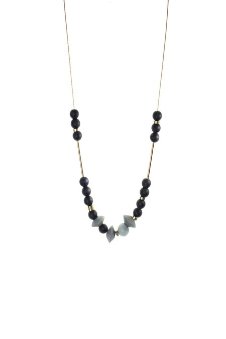 Meiresthai Design Dash Dot 1 Necklace – Cerulean