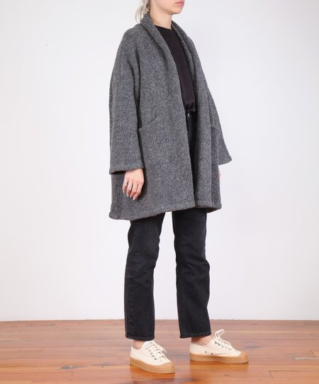 Atelier Delphine Haori Sweater Coat - Charcoal