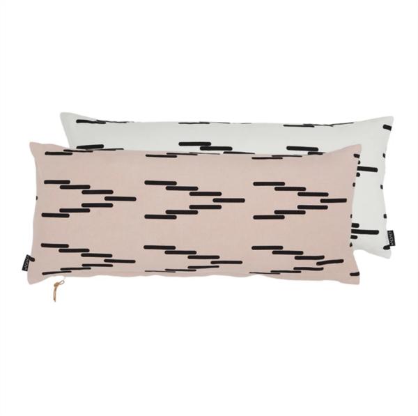 OYOY Reversible Cima Cushion - Pink
