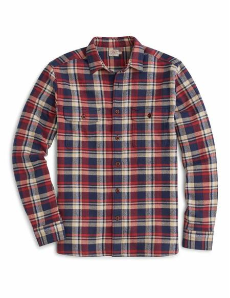 Faherty Brand Canyon Overshirt - Uncle Jack Plaid