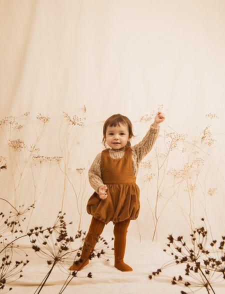 Kids Unisex Ketiketa Nick Sweater - Ochre Melange