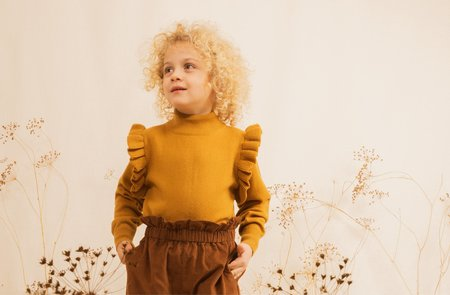 Kids Ketiketa Simone Trousers - Rosewood