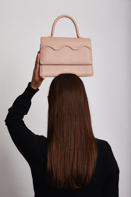 CAMELLÉT Vittoria Handbag - Pink/ Dusty Rose