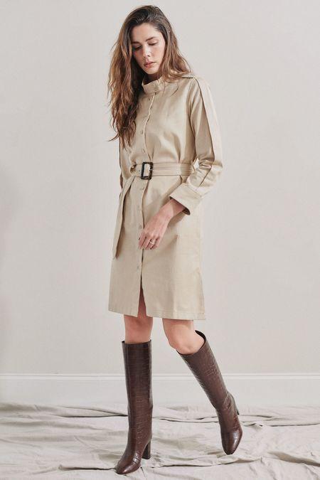 Baldwin BLDWN Morris Dress - Studio Beige
