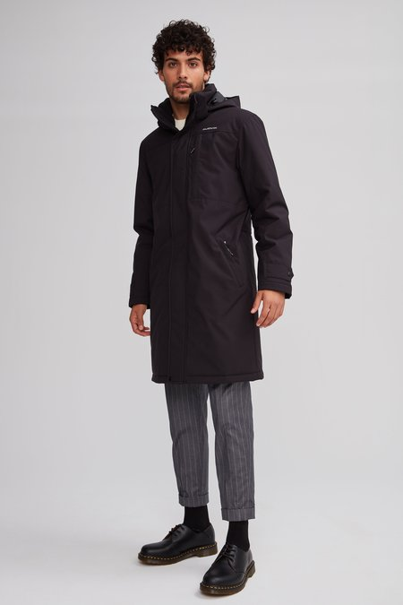 Audvik DENVER RECYCLED COAT - BLACK