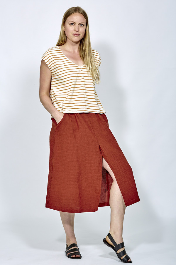 7f5288f598 First Rite Pleated Skirt | Garmentory