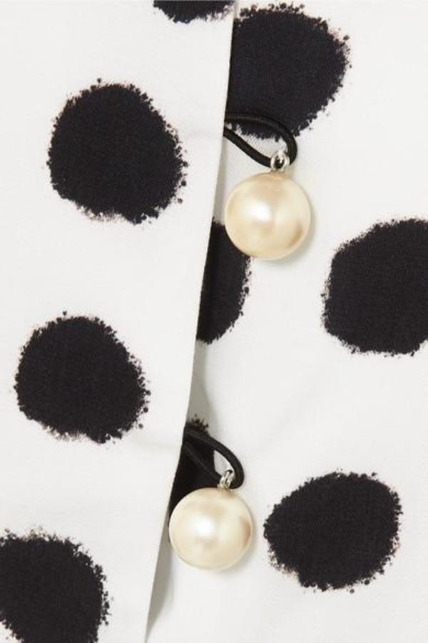 Mother of Pearl Tara Camisole - White/Black