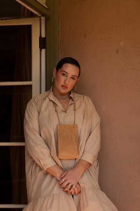 Hannah Emile Droplet Crossbody - Sand